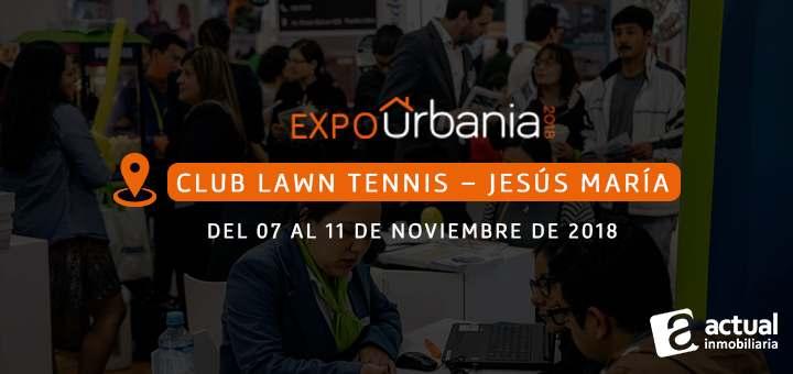 Feria ExpoUrbania 2018 actual inmobiliaria