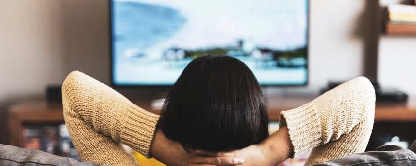 considera distancia al colocar tv