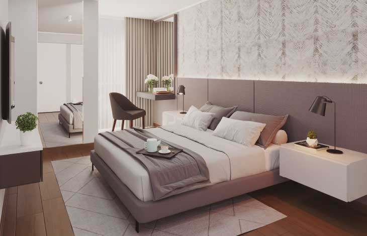 dormitorio principal proyecto faisanes actual inmobiliaria