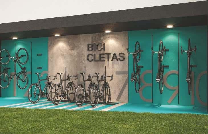 zona de bicicletas proyecto faisanes actual inmobiliaria