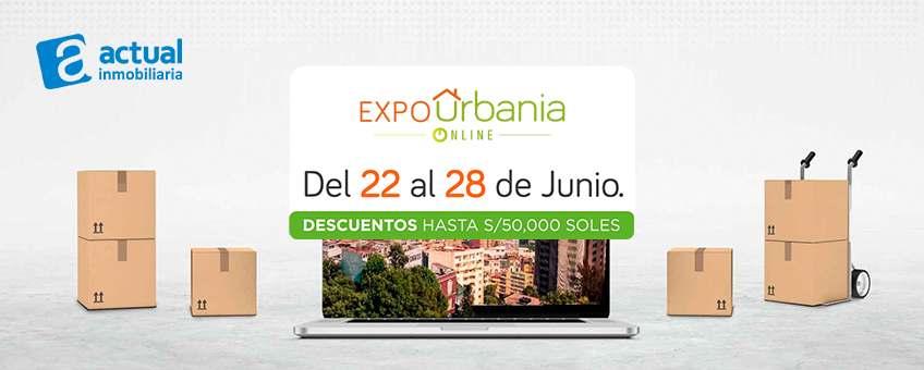 feria expo urbania online actual inmobiliaria proyectos
