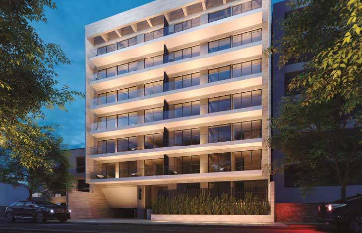 fachada proyecto lord cochrane actual inmobiliaria