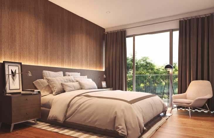 dormitorio principal proyecto lord cochrane actual inmobiliaria
