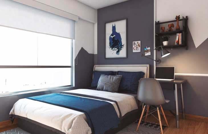 dormitorio secundario proyecto lord cochrane actual inmobiliaria