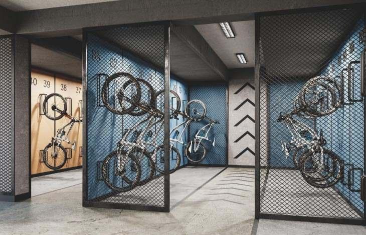 12 estacionamiento bicicletas