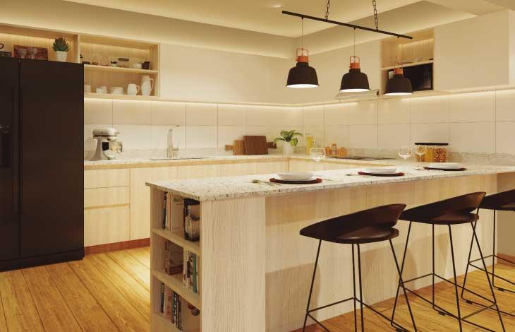 cocina proyecto republica actual inmobiliaria