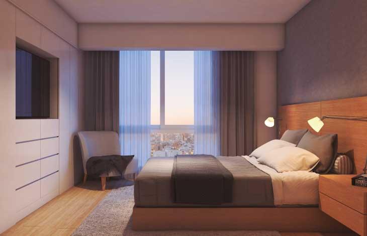 dormitorio principal proyecto republica actual inmobiliaria
