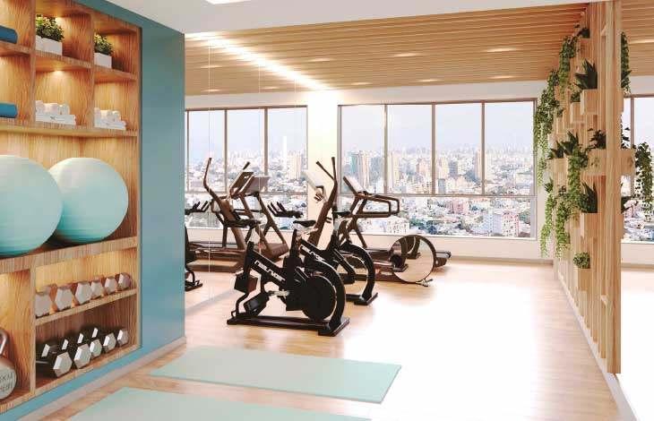 gimnasio proyecto brasil actual inmobiliaria