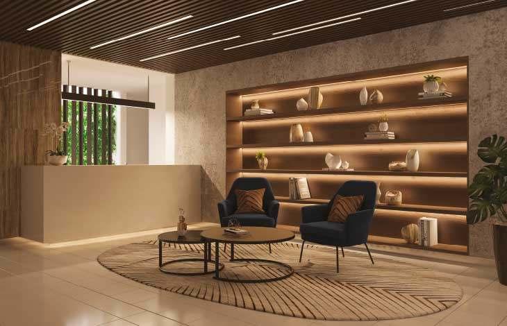 lobby proyecto berlin actual inmobiliaria