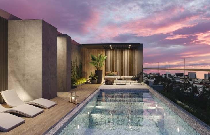piscina proyecto edificio arequipa actual inmobiliaria