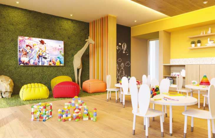 playroom ninos proyecto republica actual inmobiliaria