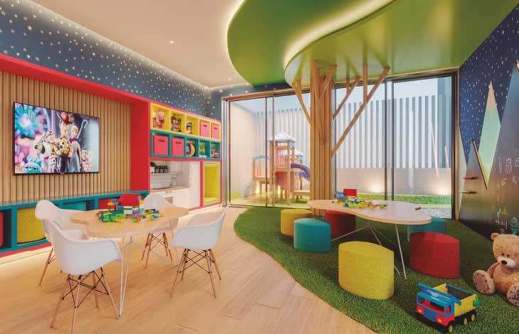 kids playroom proyecto brasil actual inmobiliaria