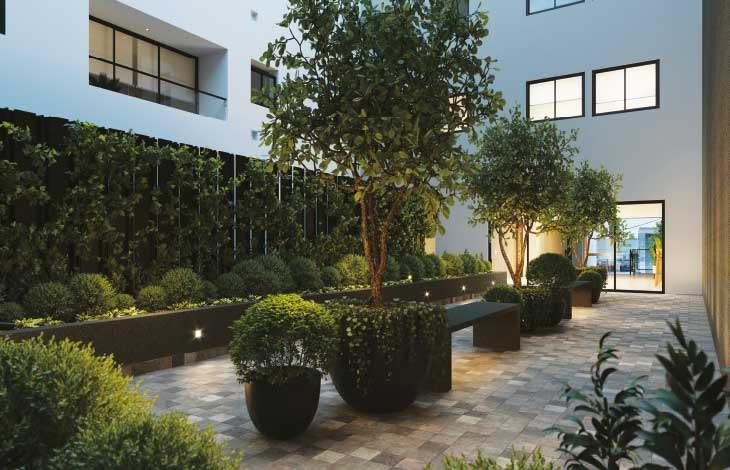 patio proyecto berlin actual inmobiliaria