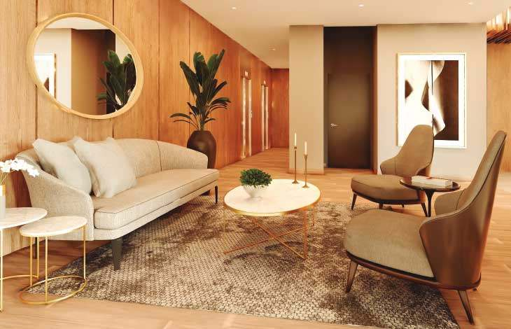 sala de espera proyecto brasil actual inmobiliaria
