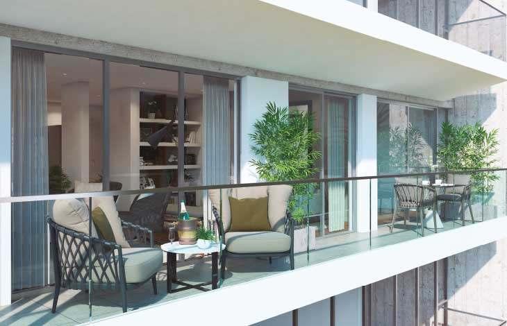 balcon proyecto lord cochrane actual inmobiliaria