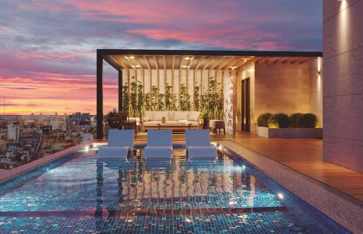 piscina proyecto brasil actual inmobiliaria