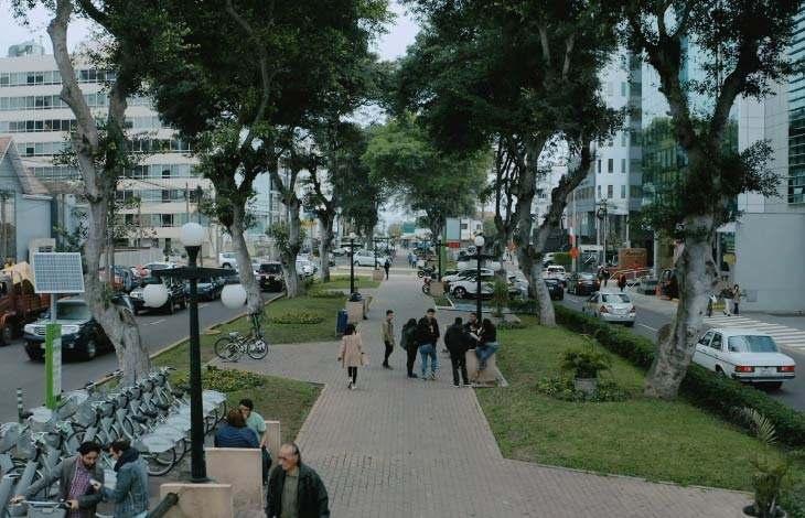 Parque Jorge Chavez