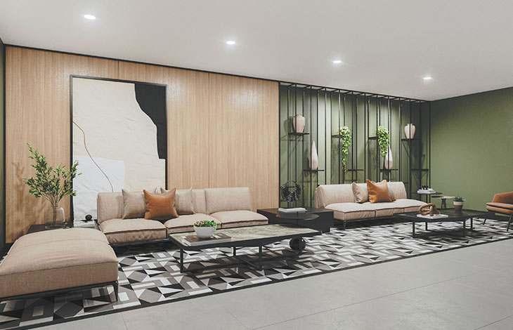 sala de estar pinos