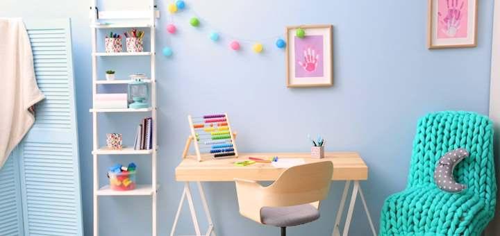 Cómo crear un espacio de estudio para tus hijos