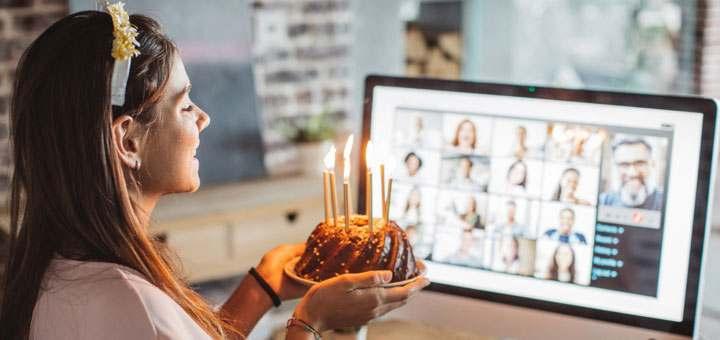 Ideas para celebrar un cumpleaños en esta cuarentena