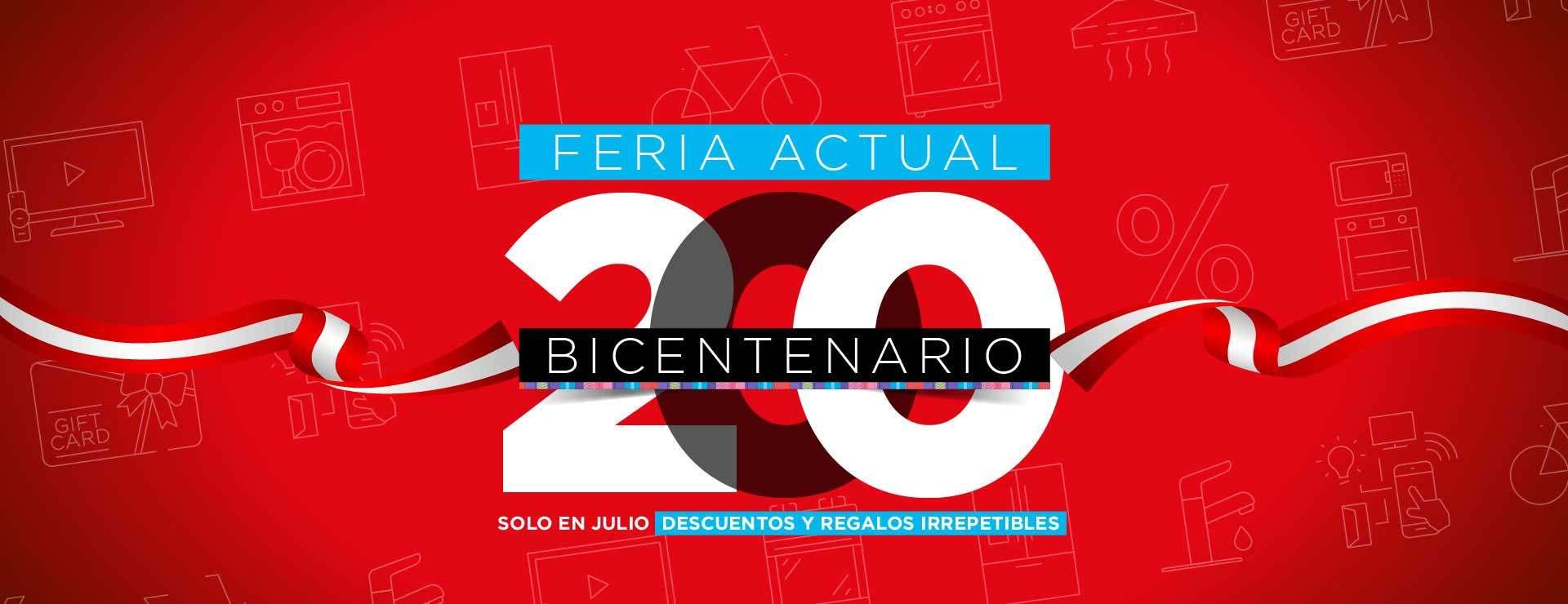 Disfruta de la Feria Bicentenario Actual