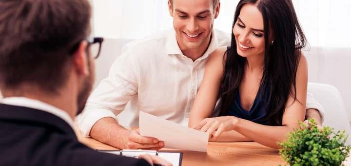 pareja banco financiamiento